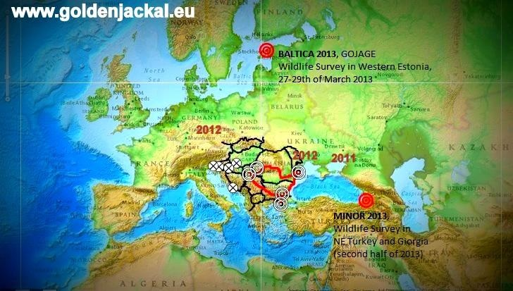 jackalmapBaltica 2013 Biogeography