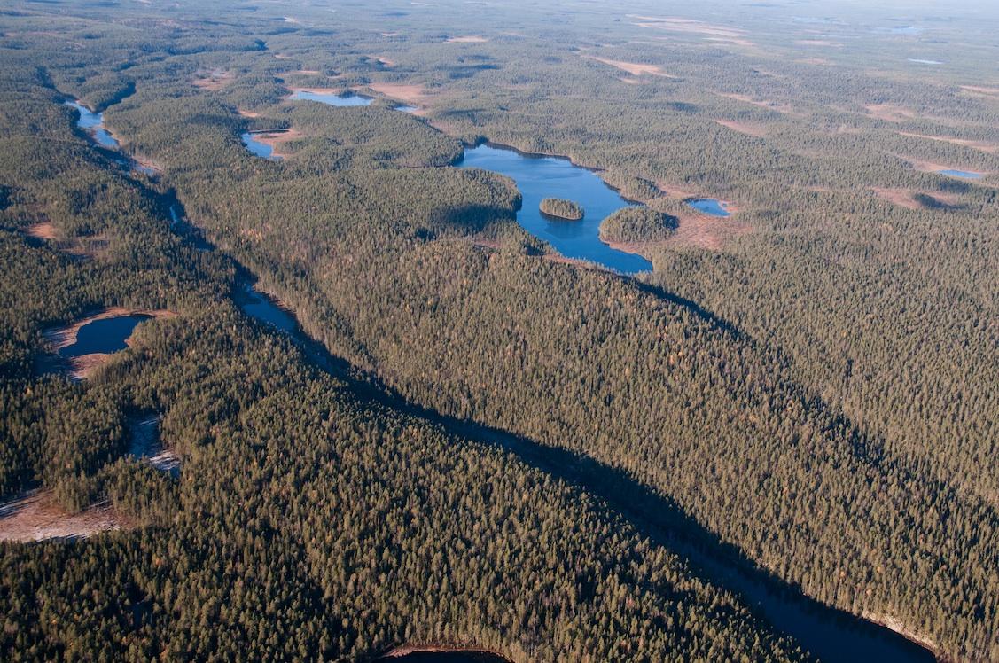 Hiidenporrin kansallispuisto syksyllä 2014. Kuva Mikko Maliniemi / Suomen Luonto.