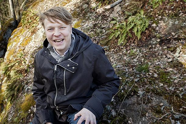 Villivihannekset ovat Sami Tallbergin alaa. Kuva: Susanna Kekkonen