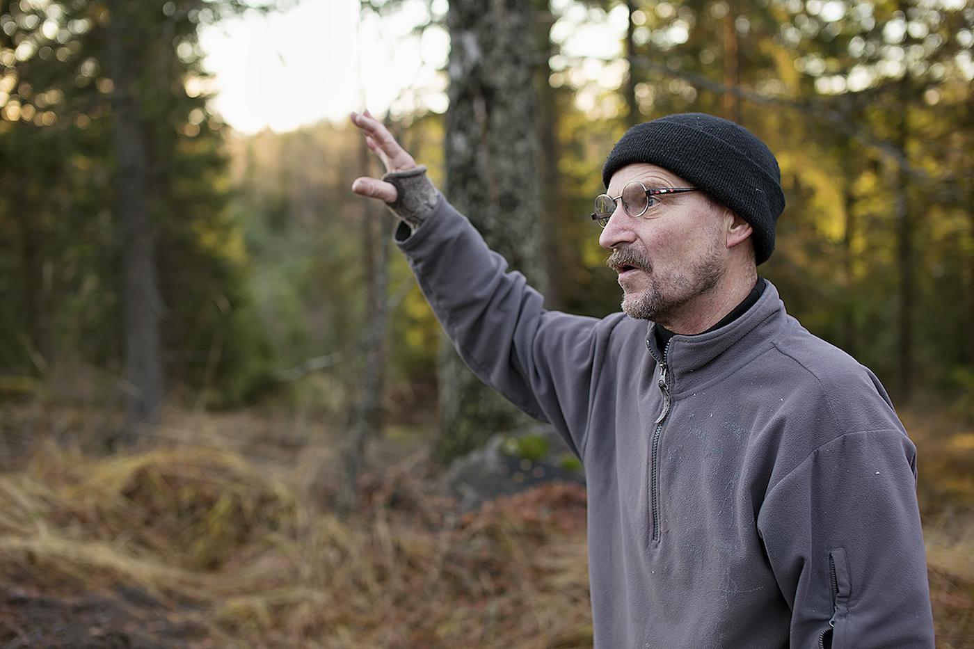 Jarmo Markkanen on susien asiantuntija ja suojelija.